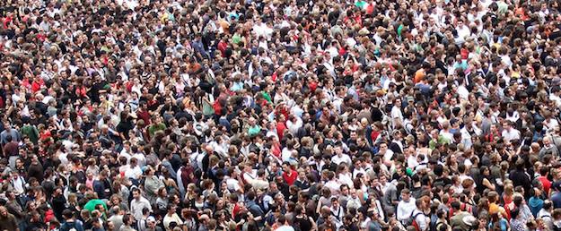 Menschen Massen