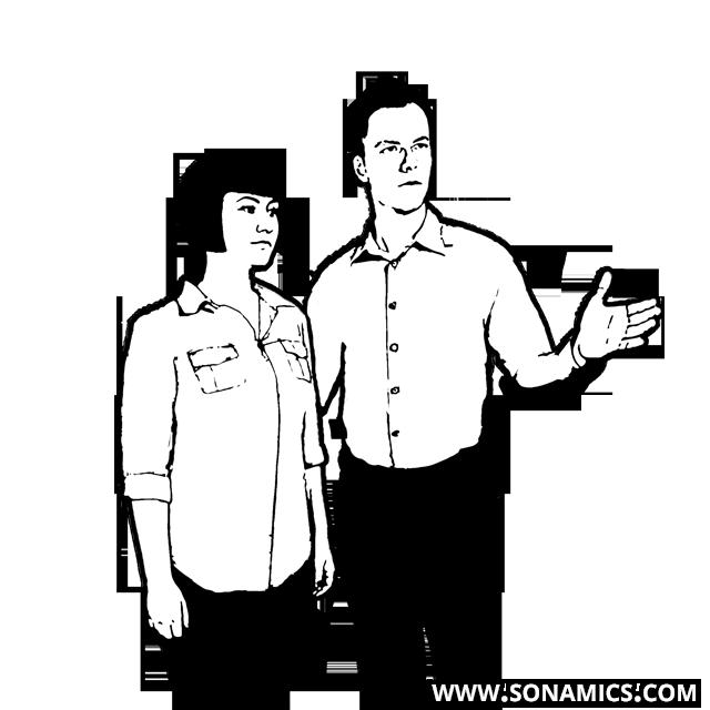 Körpersprache 22 Eskortieren