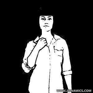 Körpersprache 30 obere Brust greifen