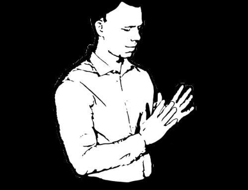 Körpersprache Trainer – Das Händereiben