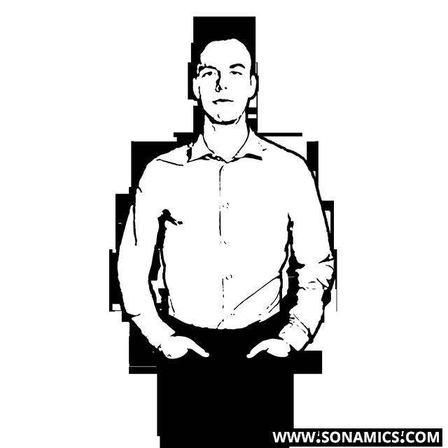 Körpersprache 35 Daumenzeiger
