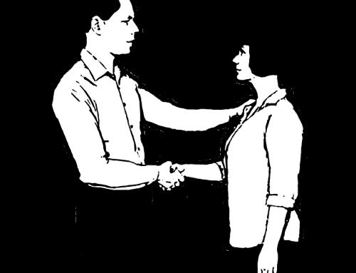 Körpersprache Trainer – Der Oberarm-Handschlag