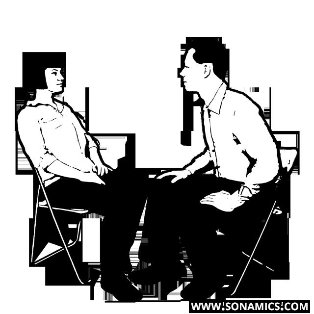 Körpersprache 33 Vorneigen