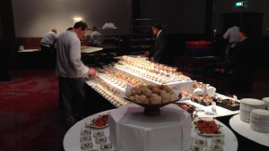 Hugo Boss Future of Fragrance Academy Niederlande Prestige Training Buffet
