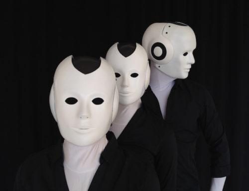 Humanoide Roboter, Moderatoren und Pantomimen bei Scarlet Entertainment