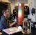 Test der Programmierung im Fab Lab Berlin