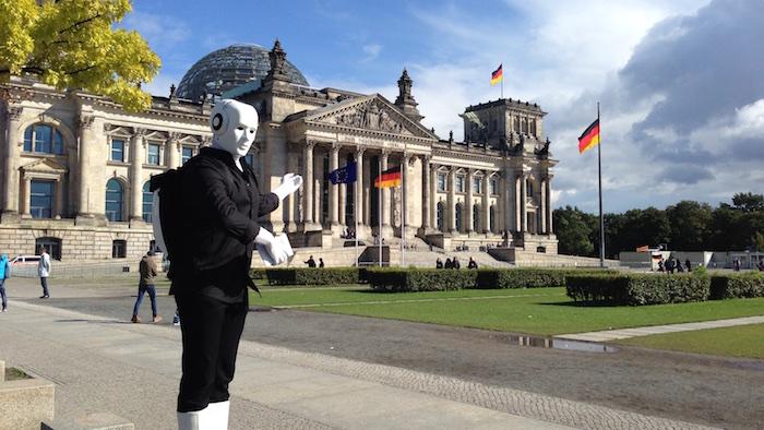 Tag der offenen Tür Künstler Bundestag Reichstag