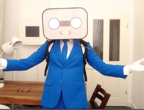 "Making of: ""Steve Machine"" – Neues Roboter-Kostüm mit LED-Animation fertig gestellt"