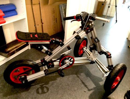 """Roboter Bau """"Hugo 2.0"""" Teil 1: Infento, Fahrräder bauen nach dem Lego Prinzip"""