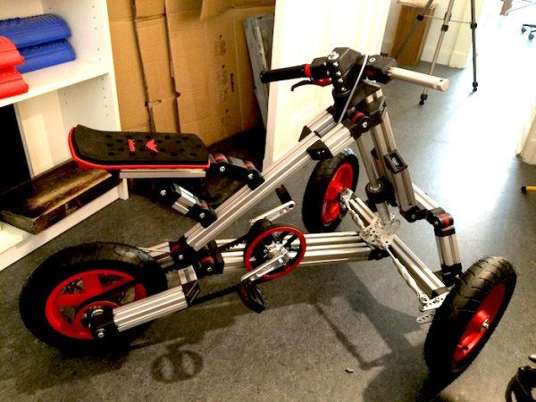 infento bulldog trike tricycle aluminium