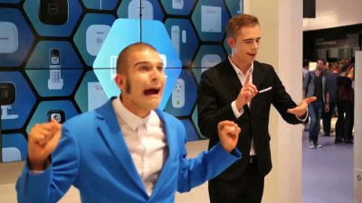messeshow-pantomime-panasonic-ifa-berlin