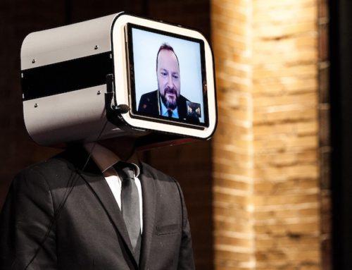 Wie kann man einen Keynote speaker doubeln ohne einen Telepräsenz Roboter zu benutzen?