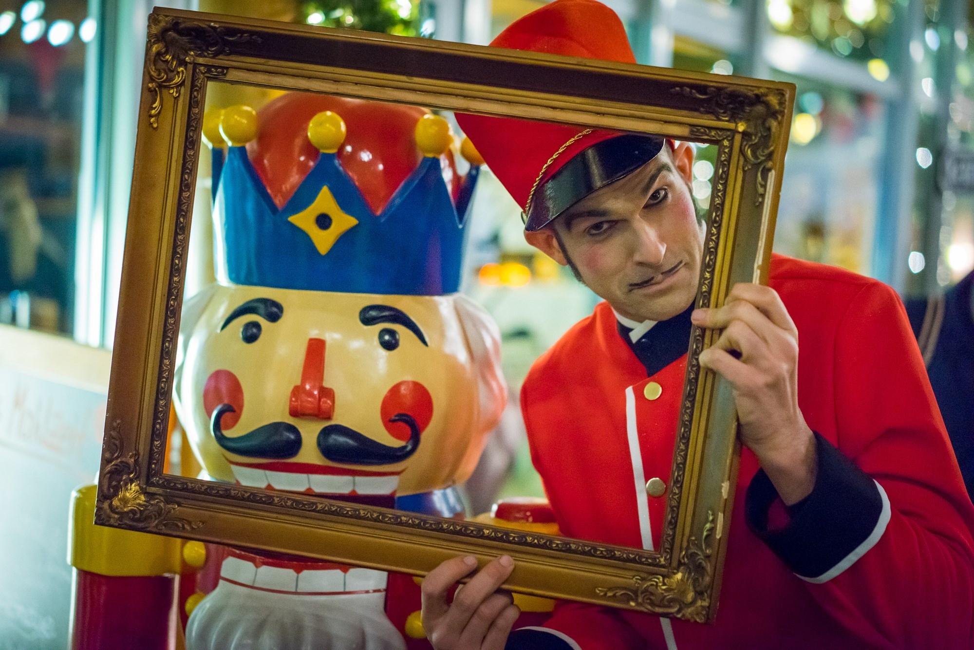 Nussknacker Pantomime Popkultur elias rahmen