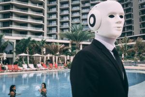 humanoid Robot Actor costume 22Maschinenmensch22 hotel.jpg
