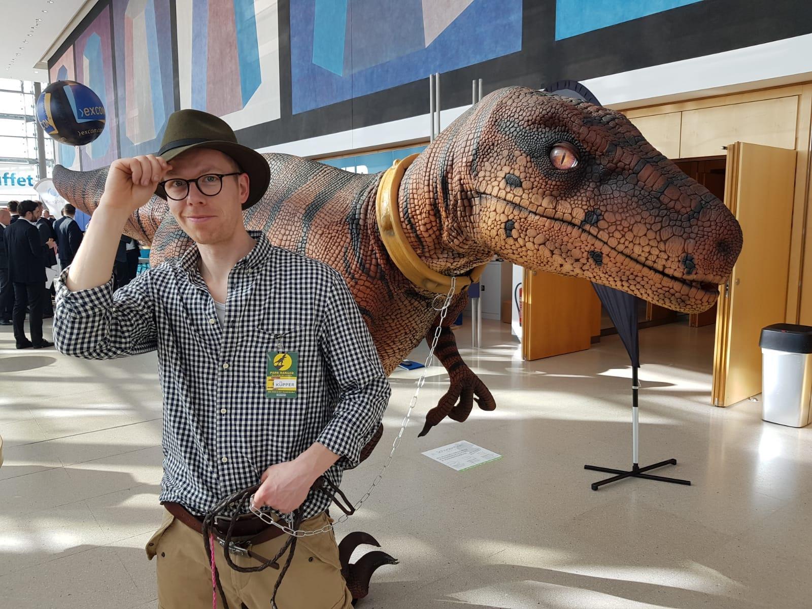 Künstler buchen Hamburg Dinosaurier