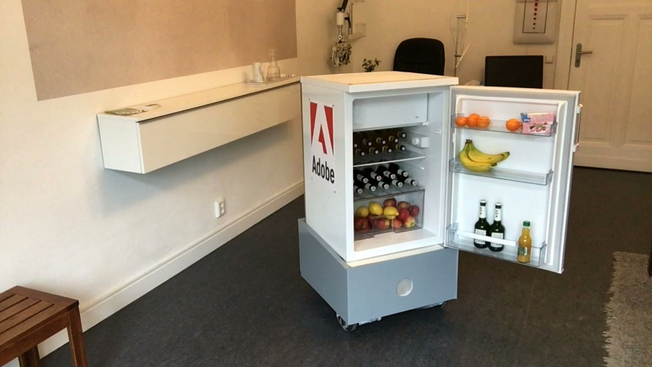 sprechender Kühlschrank Frosty