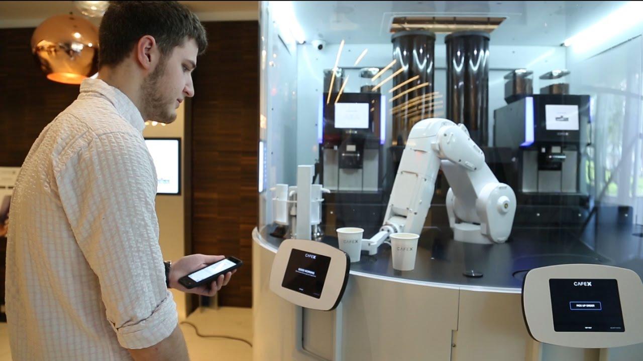 Barista Roboter Event